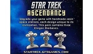 Gale Force Nine gf9st030No Star Trek ascen Dancy: Klingon Star Bases, Juego