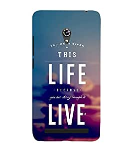 PrintVisa Motivational Wording 3D Hard Polycarbonate Designer Back Case Cover for Asus Zenfone 5 A501CG :: Asus Zenfone 5 Intel Atom Z2520 :: Asus Zenfone 5 Intel Atom Z2560