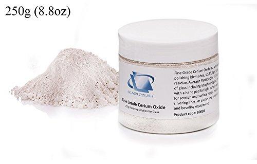 Glass Polish GP120 - Óxido de cerio (250 gramos)