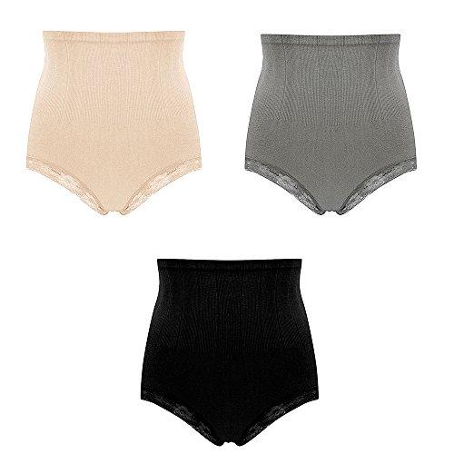 High Waist body shaper underwear Women Briefs Beauty Care Control Panties shapewear Braun