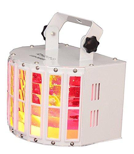 Ibiza LED-DERBY Effekt-Strahler, Weiß (Scharfe Projektor-lampe)