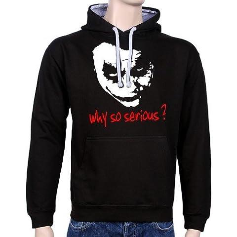 Coole-Fun-T-Shirts - Sudadera con capucha para hombre, diseño con texto