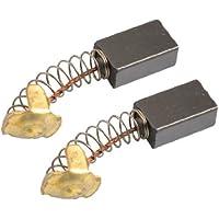 SODIAL(R) 2 Piezas de 7mm x 11mm x 18mm Escobillas de Carbon para Motor Maquina Electrica