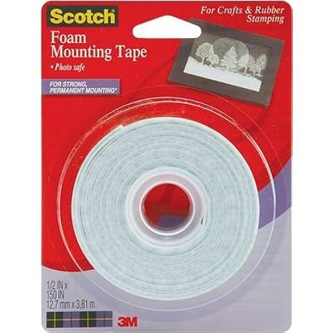 3 M Scotch-Nastro in schiuma di montaggio per portapacchi 4013 150 x 0,5 - 3m Scotch Schiuma Di Montaggio