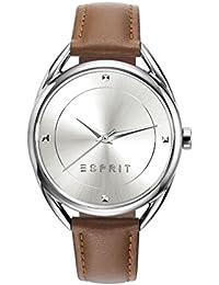Esprit Damen-Armbanduhr TP90655 Light Brown Analog Quarz Leder ES906552002
