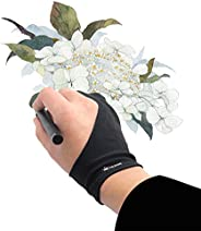Huion Anti-fouling Artist Glove for Graphics Pen Drawing Tablet Monitor Light Box Tracing Board 1 Unit Free Si