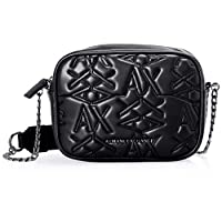 Armani Exchange Camera Bag for Women- Black