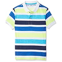 OVS Boy's 191POL022-226 Light Polo Shirt, Turquoise (Blue Atoll 2631), 9-10