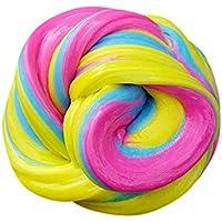 Preisvergleich für Fuibo Kinder Spielzeug Duft Stress Relief Kinder Lehm Fluffy Floam Slime Durtend