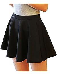 6a1f57292ce6 Suchergebnis auf Amazon.de für: faltenrock schwarz kurz - Skort ...