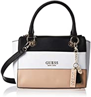 Guess Womens Satchels Bag, Tan Multi - VT767206