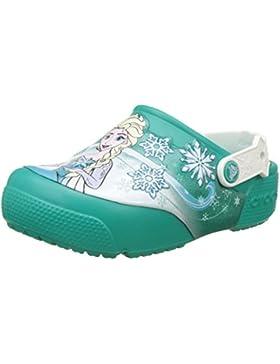 Crocs Fun Lab Frozen Lights Clog Kids, Zuecos para Niñas