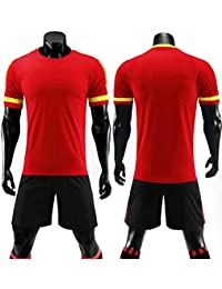 9e58f77d491dd LQZQSP Conjunto De Camisetas De Fútbol para Adultos Uniformes Ropa De Fútbol  Kit De Camiseta De