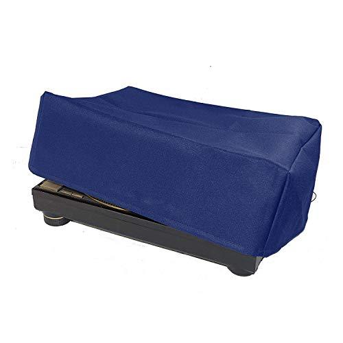 Staubschutz für Plattenspieler SL-1200/SL-1210 & Pioneer PLX-1000 Plattenspieler, wasserabweisend, antistatisch, blaues Premium-Gewebe CYFC556 -