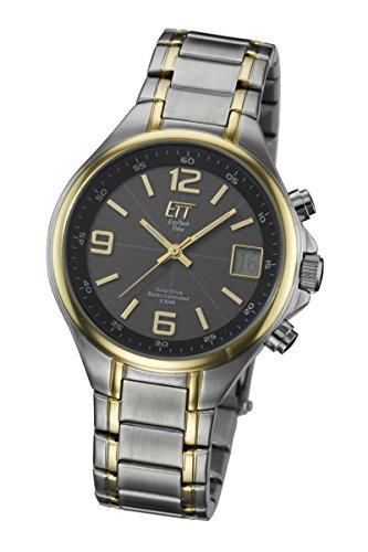 ETT Eco Tech Time Funk Solar Herren Uhr Analog-Digital mit Edelstahl Armband EGS-11036-51M