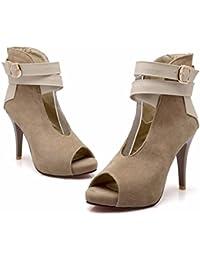 Pearl Quasten, Troddeln, Oliven, Nüsse, High Heels, Wasserdicht, Großen Nationalen Größe Schuhe, Damen, Schwarz, 43 RFF-Womens Shoes