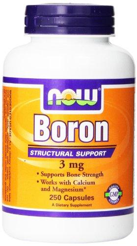 NOWFoods Boron 3 mg 250 Kapseln