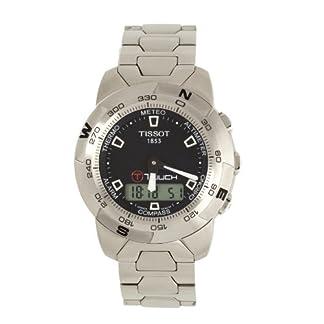 Tissot T33158851 – Reloj de cuarzo para hombre, con correa de acero inoxidable, color plateado