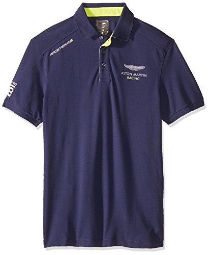 hackett-uomo-camicia-di-polo-slim-fit-aston-martin-racing-contrasto-orlo-blu-marino-l