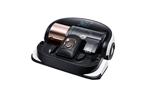 *Samsung VR20H9050UW/EN Powerbot Robotersauger (30 Watt, 0,7 Liter Fassungsvermögen, Staubsensor) schwarz*