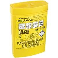 Sharpsafe Conteneur à déchets piquants, coupants et perforants 0,3 l