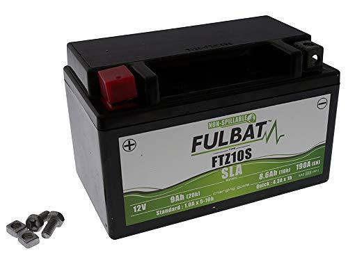 12V 8,5AH batteria ytz10Gel Power Batterie di S, yt10b 4(150X 87X 96mm) per il motociclo