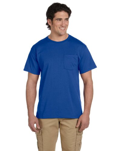 Jerzees -  T-shirt - Uomo Royal
