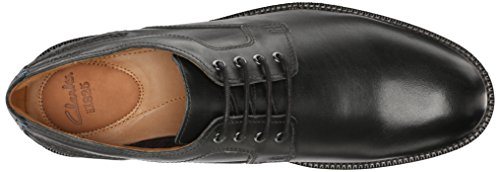 Clarks Bushwick Dale Oxford Black Leather