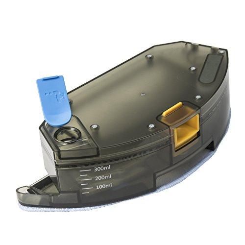 Cecotec Depósito friega Suelos con mopa de Microfibra. Compatible con Robots aspiradores Gama Excellence. Pasa la mopa y friega el Suelo. Accesorio