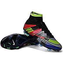 demonry zapatos para hombre Mercurial Superfly Botas de fútbol de fútbol de arco iris, hombre, arco iris, 44