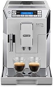 De'Longhi Eletta Automatic Coffee Machine, DLECAM45.760W, White, UAE Ver
