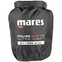Mares Cruise Dry T de Light 5L Bolsa de transporte, Black, 15x 48cm, 5L