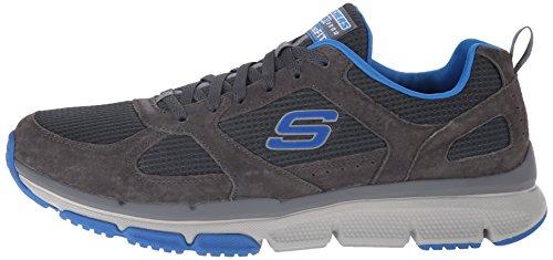 Skechers Sport Optimizer Mode Du Charcoal / Blue Sneaker