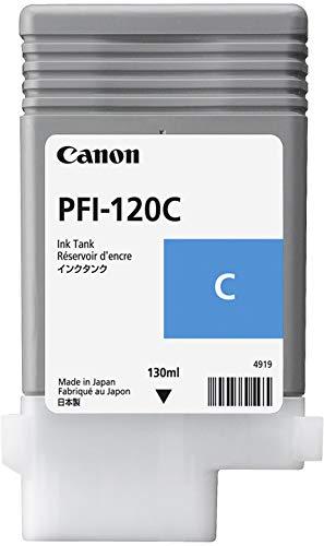Canon PFI120C approprié pour IPF TM200 Encre Cyan 2886C001 130ml