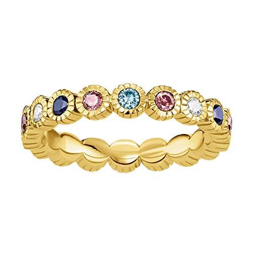 THOMAS SABO Damen-Ringe 925 Sterlingsilber zirkonia \'- Ringgröße 54 TR2225-959-7-54