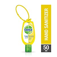 Dettol Fresh Anti-Bacterial Hand Sanitizer 50ml With Jacket