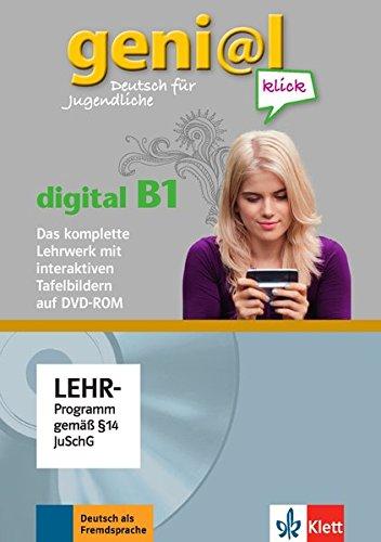 geni@l klick digital B1: Deutsch für Jugendliche. Lehrwerk digital mit interaktiven Tafelbildern DVD-ROM