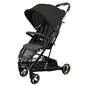 Allis Speedy Pram Travel Stroller Baby Pushchair Lightweight - Black   12