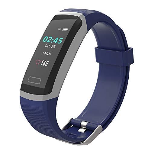 BingoFit Fitness Armband mit Schrittzähler Uhr Wasserdicht IP67 Fitness Tracker Aktivitätstracker Pulsuhren Smartwatch FitnessUhr Pulsmesser sportuhr mit Kalorie Distanz für Damen Herren Kinder