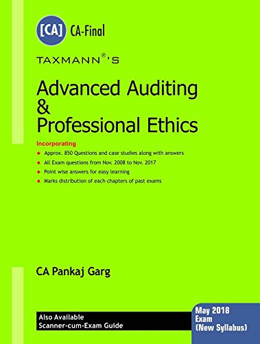Advanced Auditing & Professional Ethics (CA-Final) (for May 2018 Exam-New Syllabus)