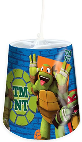Image of Teenage Mutant Ninja Turtles Tapered Pendant Shade, Multi-Colour