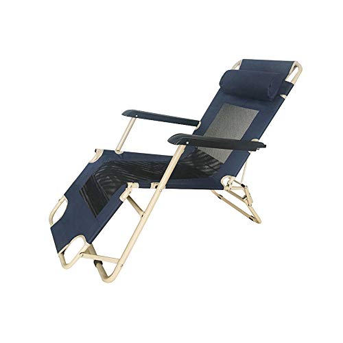 XITER Indoor Klappstuhl Schlafsessel Lounge Chair Strandkorb Mittagspause Büro 178 * 60 * 98 cm
