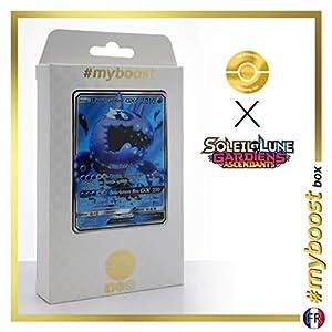Froussardine-GX (Wishiwashi-GX) 133/145 Full Art - #myboost X Soleil & Lune 2 Gardiens Ascendants - Box de 10 Cartas Pokémon Francés