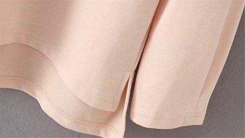 JOTHIN Automne Hiver Pull À Capuche Femmes Chandail Grandes Tailles De Mode Sweats Baggy Sweatshirts Fille Rose