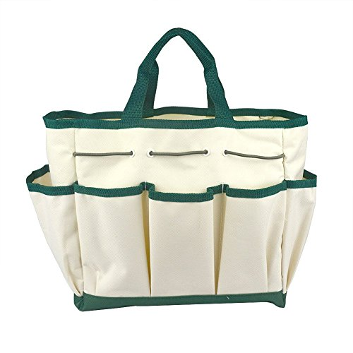 Outdoor Multi Pocket Gardening Tool Kit Holder Oxford Bag 4 Side Pouches by Gardeningwill