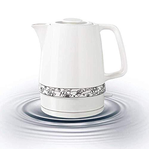 Caldera eléctrica de cerámica, Inalámbrico de agua de la tetera 1,7 litros, sin cuerda automática...