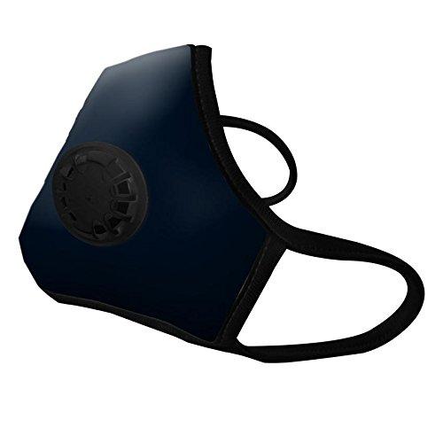 Vogmask | Noir N99 - Mascara Antipolucion con filtro de carbon activado - Grande (L - 59-90 kg)