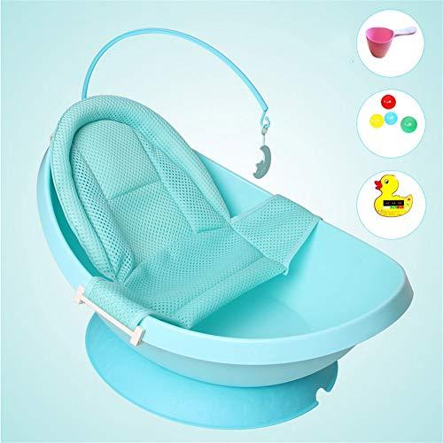Vasca da Bagno Baby Shower Lavabo Vasca da Bagno per Bambini (Color : Blue4)
