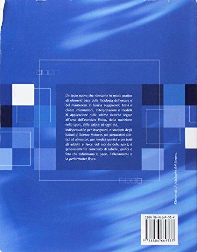 Zoom IMG-1 elementi di fisiologia del fitness