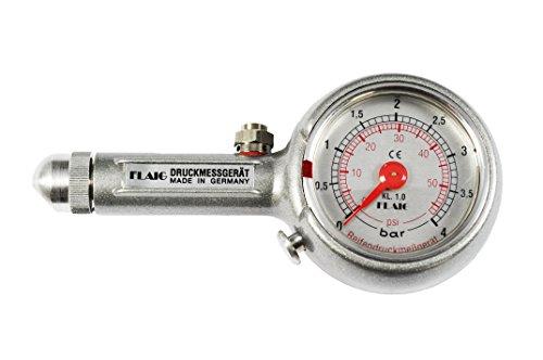 Preisvergleich Produktbild Reifendruckprüfer Reifendruckmesser 0-4 bar,  mit Ablassventil